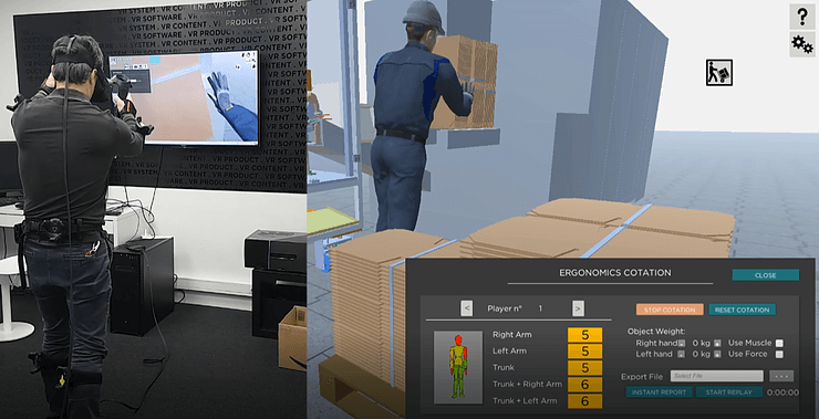 Image How can ergonomic simulation improve work conditions?